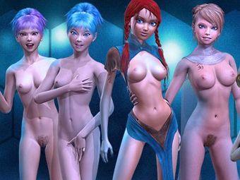 Jugar hentai desnudas con chicas manga 3d