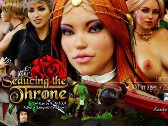 Versión Sexo del Juego de tronos con seduciendo chicas