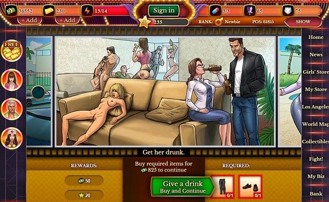 juego adulto gratis: