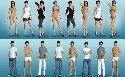 Modelos sexy en multijugador juego porno